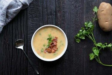 How to Make Potato Soup | eHow