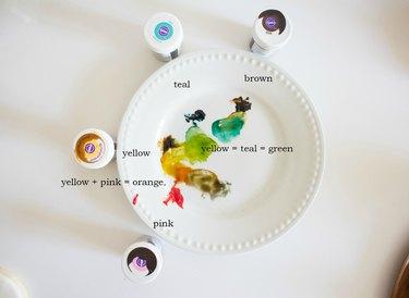 Food Gel color