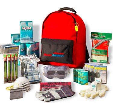 Disaster preparedness kit.