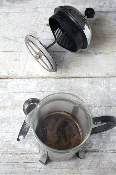 How to Make Espresso With a French Press   eHow