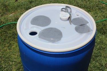 Pour spouts act as filter holes.