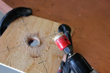 Center Hole Drilled