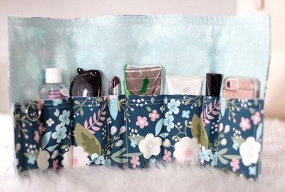 If you made a resolution to get your life in order, you'll be well on your way when you make this delightful purse organizer.