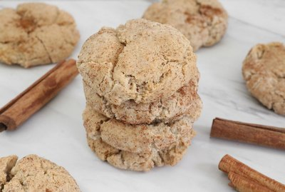 Vegan cinnamon sugar cookies