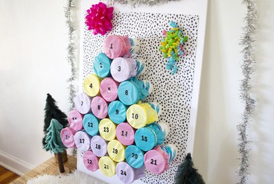 retro advent calendar