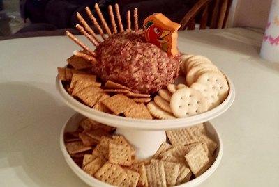 Pamela Duncan Cunningham's Turkey Cheese Ball