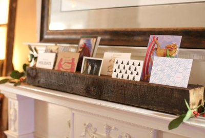 How to Make a Reclaimed Wood Card & Photo Display