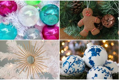 15 Awesome DIY Christmas Tree Ornament Ideas