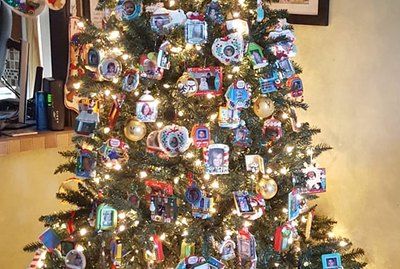Christmas Tree Spotlight: Sharon Kotz Albers' Tree of Memories