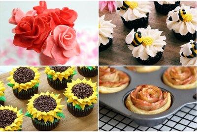 10 DIY Flower & Garden Inspired Sweet Treats