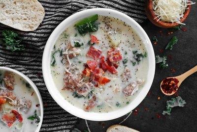 Olive Garden's Zuppa Toscana soup copycat recipe