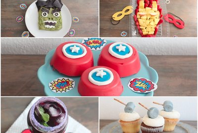 Avengers themed party snacks