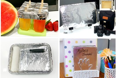 10 Clever Ways to use Aluminum Foil