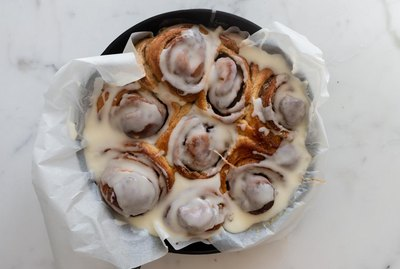 These cinnamon rolls are the perfect breakfast treat!