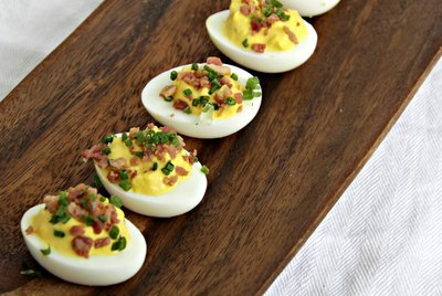 Bacon Deviled Eggs Recipe