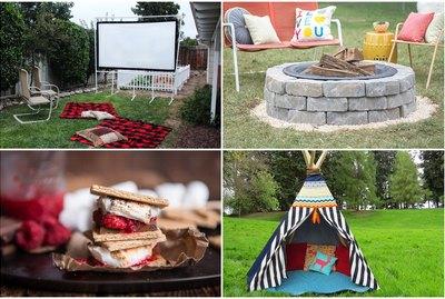 10 Must-Try Backyard Camping DIYs