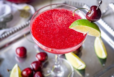 Skinny Cherry Lime Margaritas 140 calories