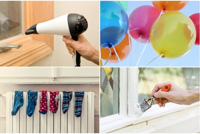 10 Clever Hair Dryer Home Hacks