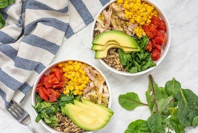 instant pot taco salad bowls
