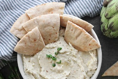 Artichoke white bean dip recipe
