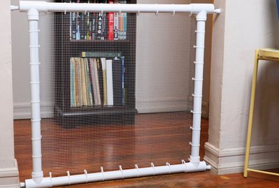 DIY PVC Pipe Pet Gate