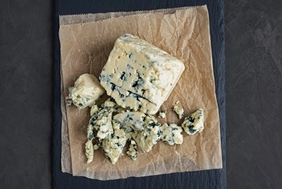 Delicious blue cheese