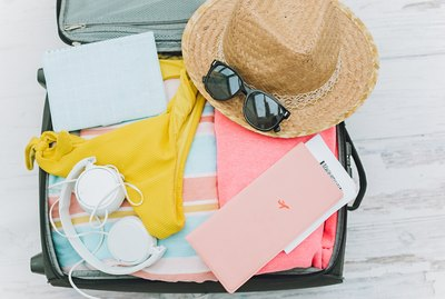 items for a summer traveler