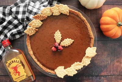 Fireball whisky pumpkin pie recipe