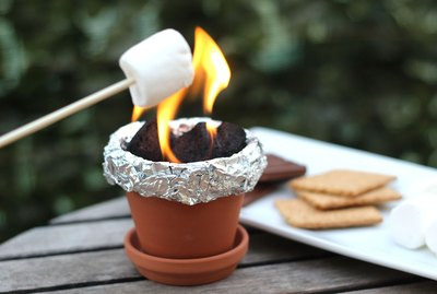 s'mores fire pit
