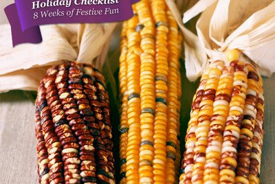 Decorative ears of corn