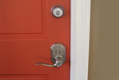How to Easily Install a Deadbolt Lock onto a Door