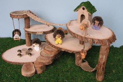 How to Make a Tree House Dollhouse