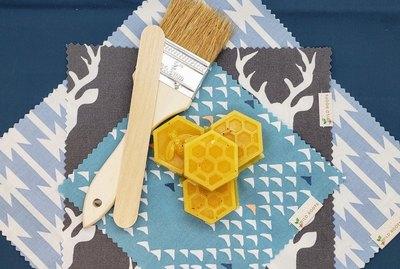 DIY beeswax food wrap kit