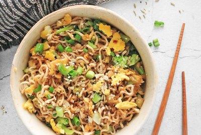 TikTok ramen noodles
