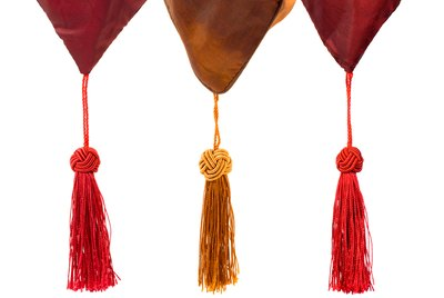 Textile and tassels