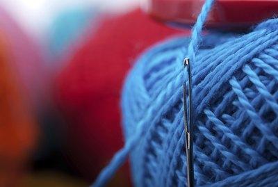 needle with yarn