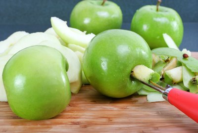 Preparing Apples for Pie