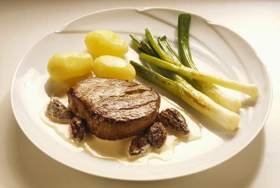 Chateaubriand in Morel Cream Sauce