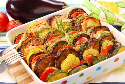 vegetables baked with cheese 2