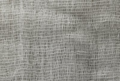 Texture of fabric from a gauze