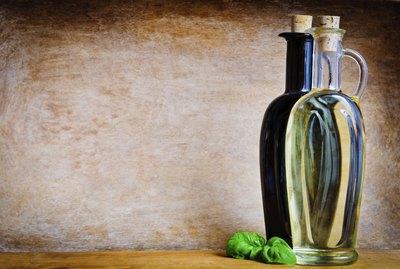 Olive oil and balsamic vinegar