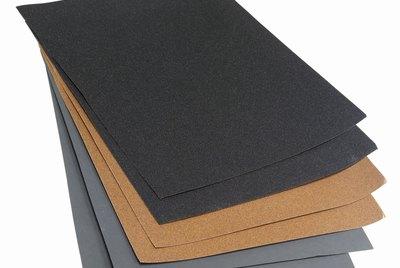 Close up of sandpaper