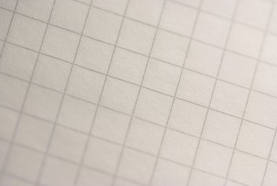 Close-up of graph paper