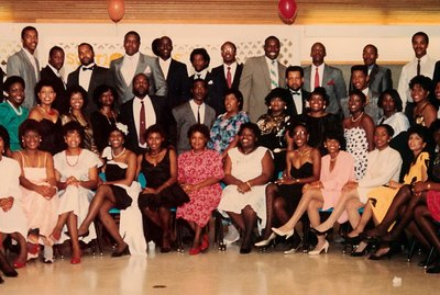 John A. Williams Is Seen In Class Reunion Photo