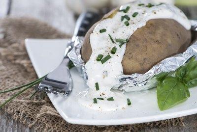 Fresh Baked Potatoe