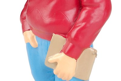 Figurine of college student