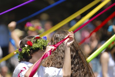 Maypole Dancer