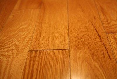 Detail of hardwood flooring