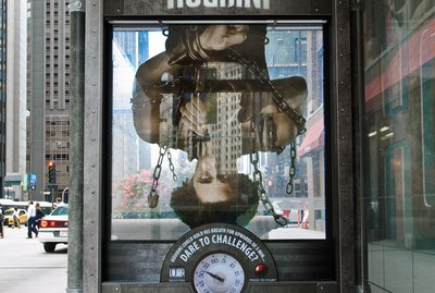 HISTORY Challenges Chicago To HOUDINI's Greatest Escape With Innovative, Interactive 3D Bus Shelters