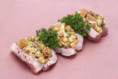 Stuffed pork tenderloins